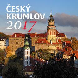 Český Krumlov - den / minikalendář s magnetem na rok 2017